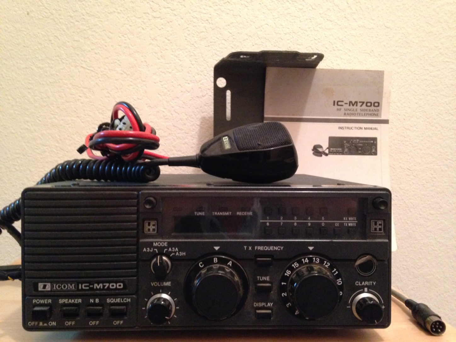Click image for larger version Name: Icom M700.jpg Views: 379 Size: ...