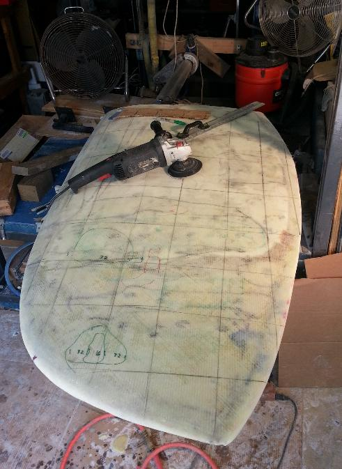 Click image for larger version  Name:Rudder pre-faired .jpg Views:61 Size:57.4 KB ID:81270