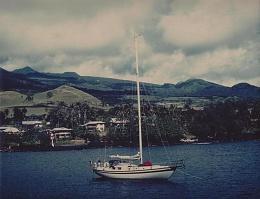 Click image for larger version  Name:Maluhia in Hana Bay, July 1979.jpg Views:292 Size:173.5 KB ID:8352