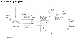 hitachi yanmar alternator machine sensed or battery. Black Bedroom Furniture Sets. Home Design Ideas
