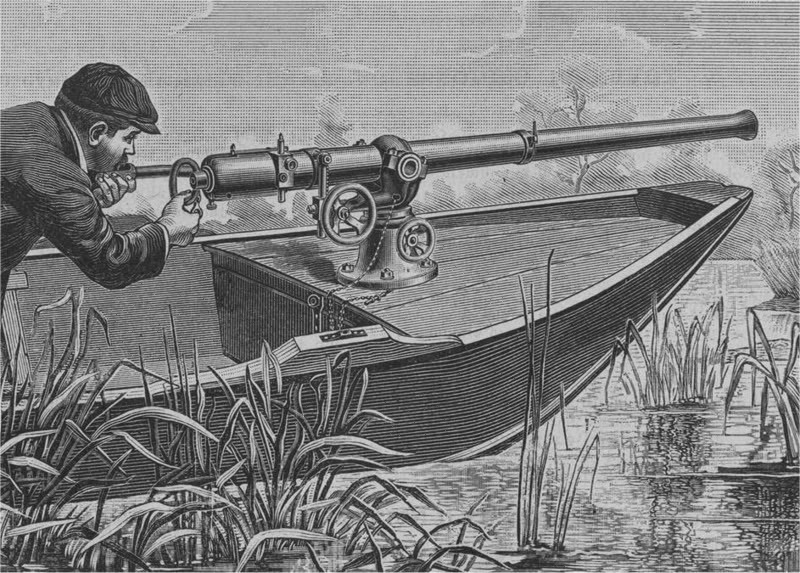 Click image for larger version  Name:A Punt Gun, used for duck hunting but were banned because they depleted stocks of wild fowl 2.jpg Views:69 Size:169.2 KB ID:93327