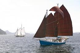Click image for larger version  Name:Colvin Gazelle 42 INDIGO Sailing.jpg Views:202 Size:408.7 KB ID:93639