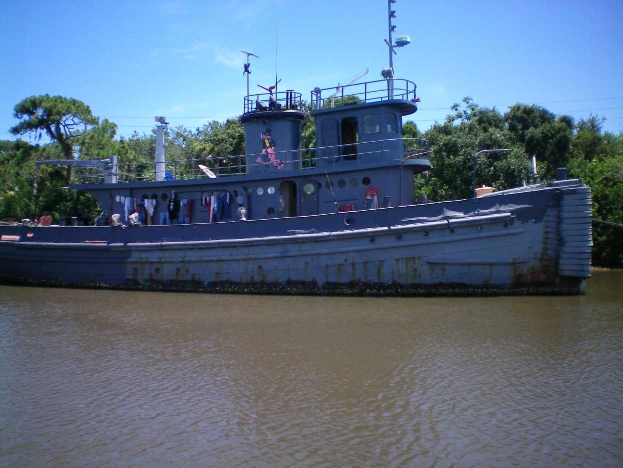 Click image for larger version  Name:Weird boat on ICW.jpg Views:239 Size:410.8 KB ID:94021