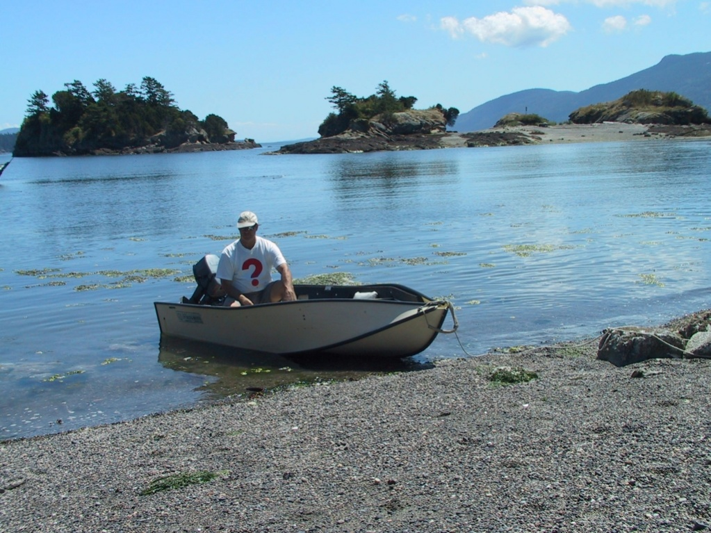 Click image for larger version  Name:Jerry in Portebote Ewing Bay Succia Island.jpg Views:280 Size:319.9 KB ID:94044