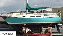 Click image for larger version  Name:NEWPORT28 PORTBEAM ON CRADLE2014.jpg Views:214 Size:372.4 KB ID:94767