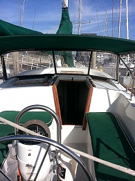 Click image for larger version  Name:Cockpit from helm 1 .jpg Views:465 Size:109.4 KB ID:97601