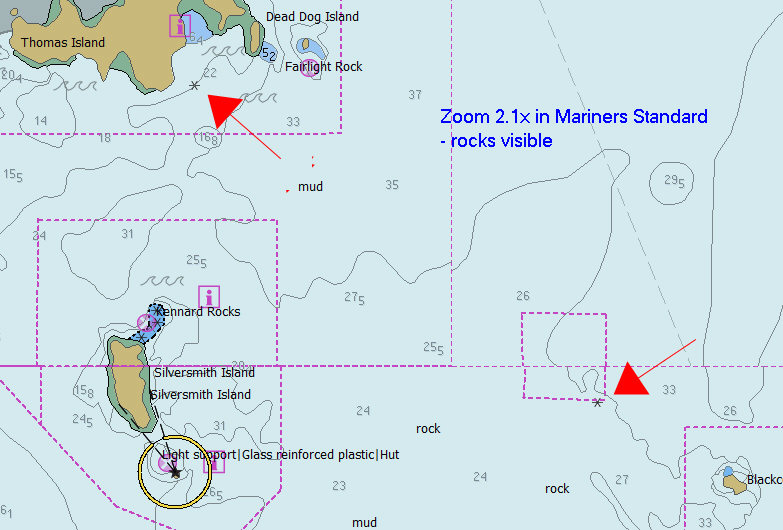 Click image for larger version  Name:OPenCPN 3 Mariners Standard shows rocks.jpg Views:131 Size:94.4 KB ID:97998