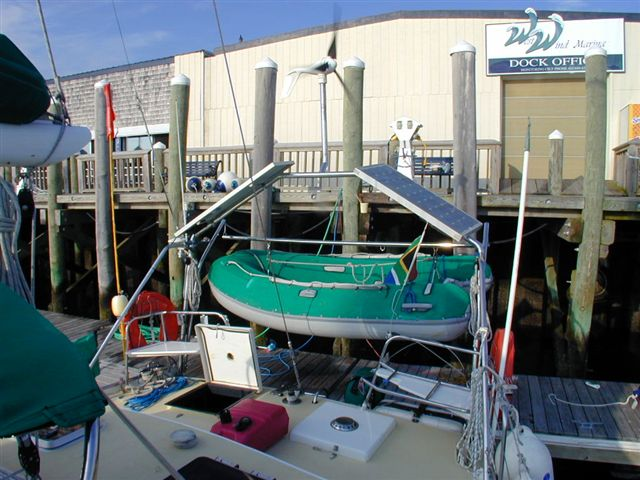 Click image for larger version  Name:Dinghy on Davits.jpg Views:322 Size:73.4 KB ID:98213