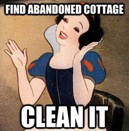 Click image for larger version  Name:funny-cartoon-logic-abandoned-cabin-clean-it-snow-white.jpg Views:137 Size:103.1 KB ID:98995