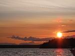 ruxton island sunset