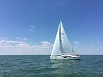 Beautiful sailing day with our new boat!