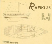 Gathering place for Rafiki 35 and 37 owners past and present to unite and share experiences of these charming Stan Huntingford designs.