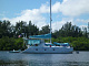 Manta catamarans are one of the few US built cats. The first hulls were 38', followed by 40's and finally 42's. The interior layout is similar for all 3 lengths with the transom being...