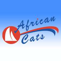 African Cats was founded in 2001 and builds the Fastcat line of Sailing catamarans and the Powercat line of catamaran trawlers.  African Cats has pioneered the Green Motion retractable...