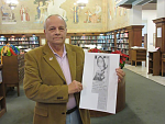 My Picture made in DECEMBER 2017, I had gone to the Birmingham, Alabama Library to recover an article printed on The First Page of The Birmingham...