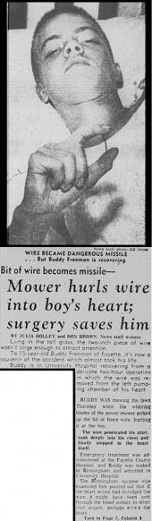 14 MAY 1959 Birmingham, Alabama. Article from Friday 15 May 1959.