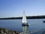River sailing