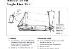 Selden Single Line Reefing