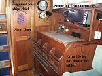 Mithril Nav Table & Shop door with text Ballard JUL 20