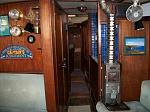 Mithril Forward Cabin Compaionway thru Fridge Area. Head to Port Ballard JUL 20