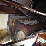 Old Starboard fuel tank.