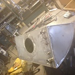 New Stainless Fuel tank