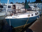 my new boat 1963 columbia defender first day precleanup