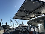 Lagoon 450 Solar Panel Addition