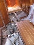 rebuilding mast foot