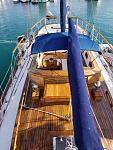 Gryphon Top Deck looking aft