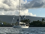 At anchor Western Samoa