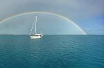 At anchor in Tongatapu.