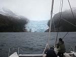 Francia Glaciar, Campos de hielo, Chile