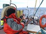 sailing on Vancouver island
