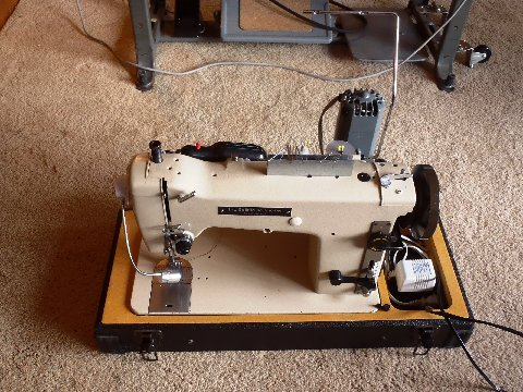 Cruisers Sailing Forums Taming A Sailrite Sailmaker Industrial Impressive Sailrite Sewing Machine For Sale