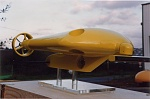 The Yellow submarine (model for Thomson)