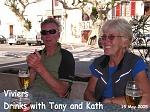 Tony & Kath at Viviers.
