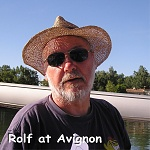 Rolf at Avignon.