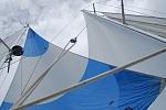 lots of sail