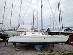 My last boat, lost by the crew on the delivery trip ;-(
