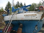 The day we bought Euroclydon in Ketchikan, AK.