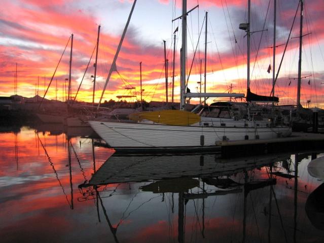 La Paz sunrise