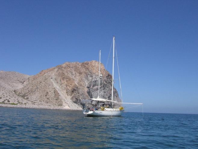 At anchor Sea of Cortez