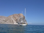 At anchor Sea of Cortez