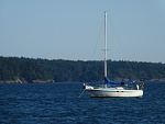 on the hook @ Lopez Island, WA